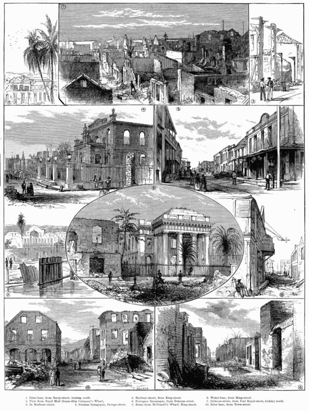 Kingston fire 1882