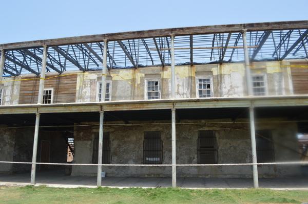Remains of the Naval Hospital in Port Royal, rebuilt 1818 - 2