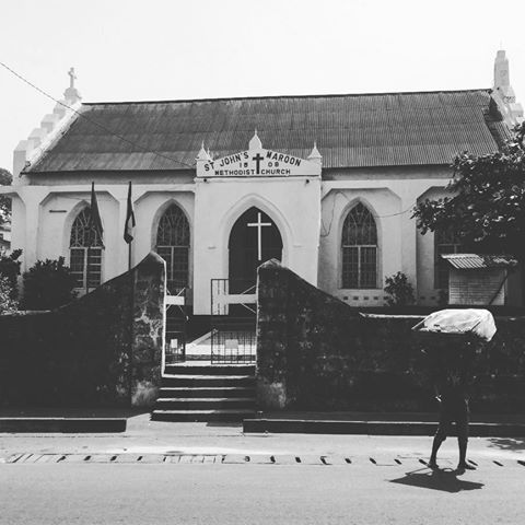 st johns maroon methodist church - sierra leone