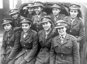 jamaican women- WWII